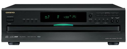 Onkyo DXC390 6 Disc CD Changer,Black