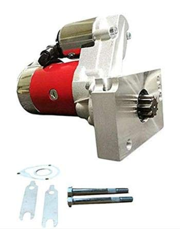 New Mini Starter Fit for Chevrolet Chevy 305 350 396 454 327 396 SBC BBC Engine 3HP High Torque Gear Reduction153 168 Tooth Red