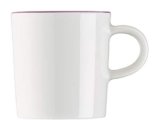 Arzberg Cucina Tasse à Expresso, Tasse, Tasse Expresso, Tasse à Moka, Tasse à Ristretto, Colori Violet, Porcelaine, 9 cl, 42100-670661-14717