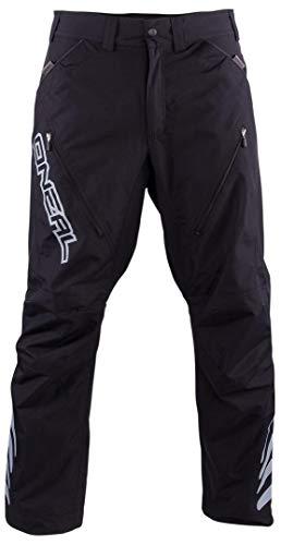 O'Neal | Mountainbike-Hose | MTB Mountainbike DH Downhill FR Freeride | Wasserabweisendes Material, Elastischer Einsatz | Predator III Freeride/All Mountain Pants | Erwachsene | Schwarz | Größe 34/50