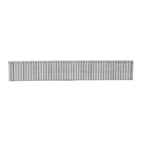 Zerodis 1000 Piezas Grapas de Acero Inoxidable para Grapadora Manual 1008F Clavadora, Set Clavos para Grapadora, Grapa Tipo U Tipo, Grapa Tipo Puerta, Grapas Tipo T Disponibles(T Type)