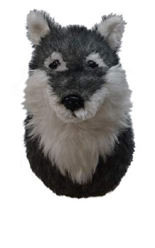 ADORE 12' Lobo the Wolf Plush Stuffed Animal Walltoy Wall Mount