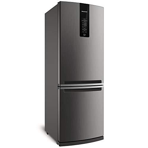 Geladeira Brastemp Frost Free Inverse 460 litros cor Inox com Freeze Control Advanced - 220V