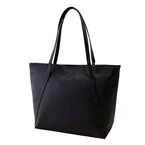 Darringls Borse Donna, Borse a Mano Borse Tote Elegante Borse Tracolla Casual Borse a Spalla Retro Borse in PU Solid Simple High Capacity Messenger Handbag Totes