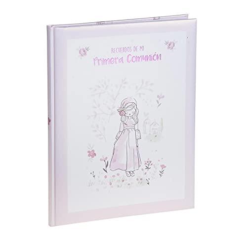 Busquets Libro Recuerdos Primera Comunión Niña Rosa
