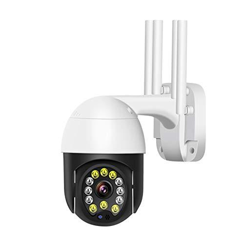 N \ A Cámara de Seguridad inalámbrica para Exteriores, cámaras de vigilancia para Sistema de Seguridad para el hogar, cámara HD de 1080p con detección de Movimiento visión Nocturna Resistente al Agua