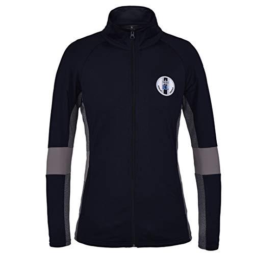Kingsland Damen Fleecejacke Libra Farbe Reitbekleidung Navy, Kleidergrößen S
