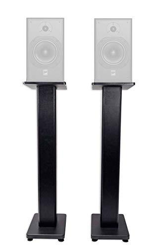 "(2) Rockville 36"" Studio Monitor Speaker Stands For ATC SCM12 Pro Monitors"
