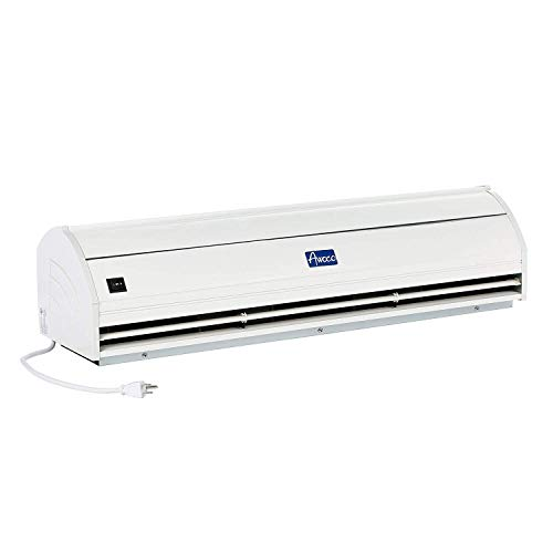 Awoco Elegant 900 CFM 2 Speeds Indoor Air Curtain with Heavy Duty Door Switch, 36-Inch