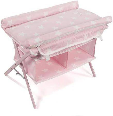 La Nina Baby Changing Cot Dolls, Pink, 51 x 40 x 34 cm (62068)