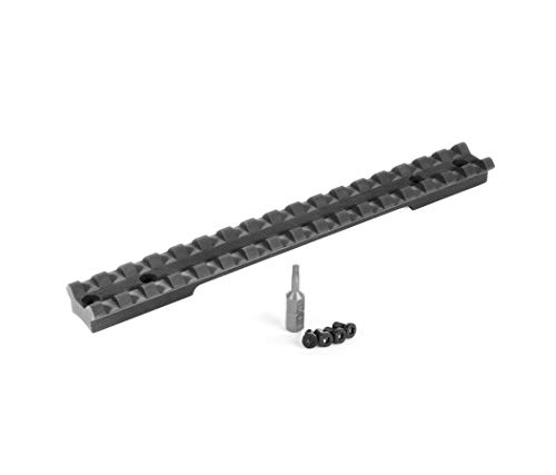 EGW Savage Shortened 220 Slug Gun Picatinny Rail 0 MOA 41101 Includes Vibra-Tite Thread Locker, Torx Bit & Screws