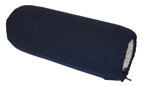 """Taylor Made Products 9036 Fleece Boat Fender Cover for Center Rope Tube Style Fenders (10"""" x 26"""", Navy Blue)"""
