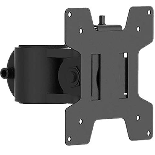 WALI VESA Mounting Plate for WALI Monitor Mounting System, VESA Compatible 75 by 75 mm and 100 by 100 mm (VES01), Black