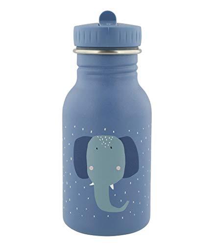 Trixie - Botella de acero inoxidable para niños, diseño de elefante, 350 ml