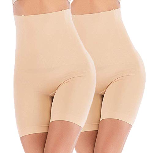 ANGOOL High-Waisted Tummy Control Shapewear Slip Shorts Underwear Leggings Butt Lifter Slimming Briefs for Women