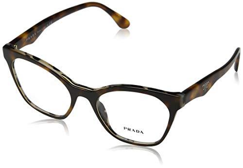 Prada 0PR 09UV Monturas de gafas, Havana/White Havana, 52...