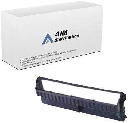 AIM Compatible Replacement for Olivetti PR-4 Black Printer Ribbons (6/PK) (B0028) - Generic