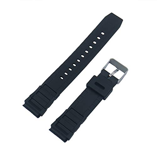 Tian Ran Dai - Cinturino di ricambio per orologio, 18 mm, per F91 F91W F91-W