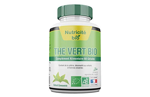 Extrait de Thé vert Bio - Detox - Aide minceur – The vert bio détoxifiant pour aider au maintien du poids de manière efficace