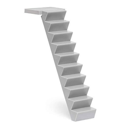 Lundby 60-102500 - Treppe Puppenhaus und Room-Modul - Außentreppe - Leiter - 20,5 cm - Puppenhauszubehör - Zubehör - ab 4 Jahre - 1:18
