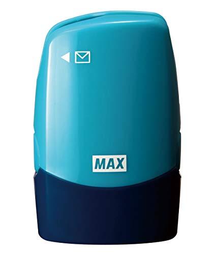 マックス 個人情報保護スタンプ レターオープナー付き コロレッタ ブルー SA-151RL/B2