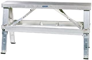 Bon 14-116 48-Inch Long, 9-1/2-Inch Wide, Professional Quality Aluminum Drywall Bench with Adjustable Legs