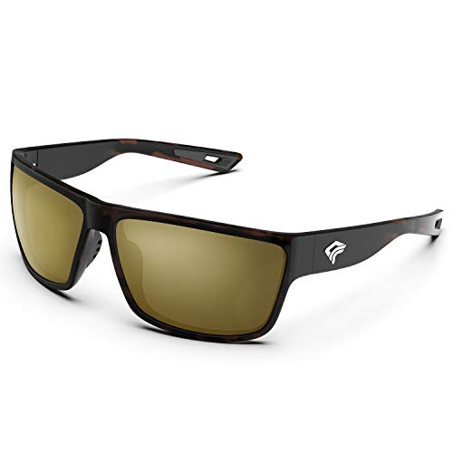 TOREGE Polarized Sports Sunglasses for Men and Women Cycling Running...