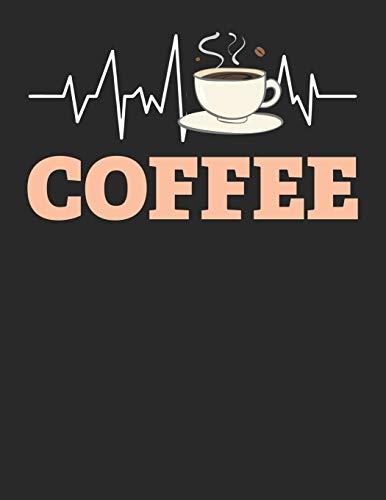 Kaffee Tasting Buch: Dein persönliches Verkostungsbuch zum selber ausfüllen ♦ für über 100 verschiedene Kaffeesorten ♦ Egal ob aus europäischen, ... Format ♦ Motiv: Kaffeetasse Herzschlag