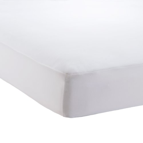 AllerEase Hot Water Washable Allergy Protection Mattress Pad, King