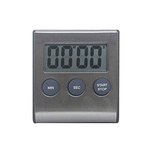 Reloj de cocina recordatorio electrónico utilizado for la escena de tiempos Tiempos adecuados for la cocina barbacoa for cocinar magnético for una fácil instalación pantalla LCD temporizador plástico