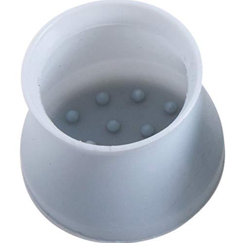 4 x 8 Stück Silikon Stuhlbeinschoner Tischfüße Möbelfüße Stuhlgleiter Füße Kappen Free Size Blue(4pcs)