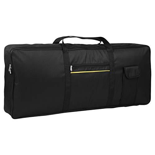 Andoer Keyboard Tasche 76-Tasten Elektrisches Klavier Gepolstert Tragbar Fall Gig Bag Oxford Stoff