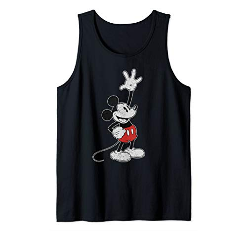 Disney Vintage Mickey Mouse Hey There Tank Top