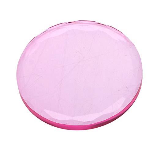 Minkissy 5 Pcs Femmes Cils Extension Palettes Maquillage Cils Colle Joints Cristal En Verre Cils Autocollant Pad Titulaires Pour Faux Cils Greffe Extension