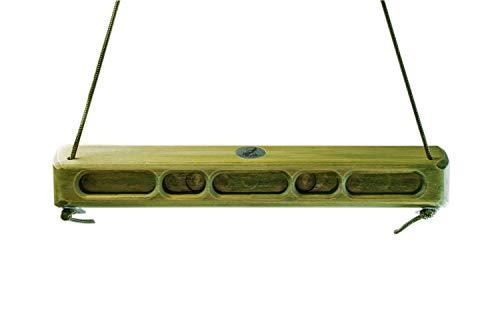 Captain Fingerfood Kletterboard Trainingsboard Hangboard 180° (Guacamole grün, 44)