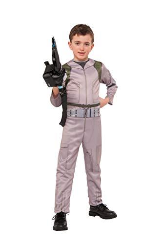Rubie 's Offizielles Ghostbusters-Kostüm, für Jungen, mit aufblasbarem Proton-Strahler, Design 2016