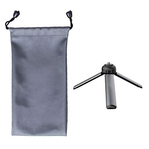 Yimixz Trípode universal mini para cámara con funda impermeable de aleación de aluminio, soporte de viaje portátil para smartphones DSLR y cámaras deportivas