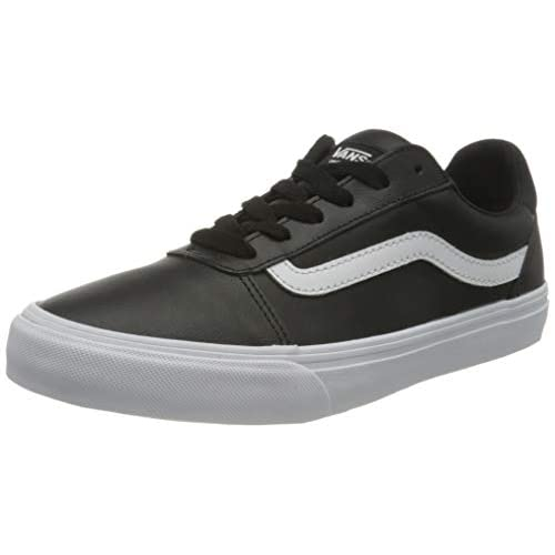 Vans Ward Deluxe, Sneaker Donna, Bianco E Nero, 37 EU