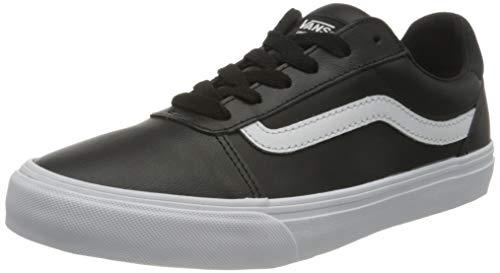Vans Ward Deluxe, Sneaker Donna, Bianco E Nero, 36 EU