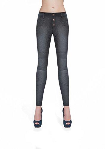 Sexy leggings, handgemaakt, zwart, maat L, Taille S, zwart.