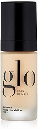 Glo Skin Beauty Luminous Liquid Foundation SPF 18   Moisturizes & Protects Skin   Talc-Free, Paraben-Free & Cruelty-Free   Sheer Coverage, Dewy Finish