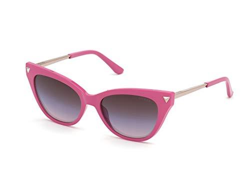 Guess gafas de sol GU7685 72Z gafas de sol de Mujer de color Rosa de la lente púrpura tamaño de 54 mm