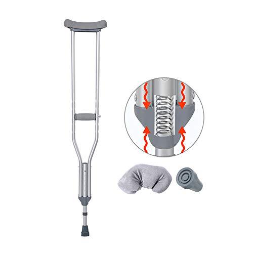 crutch Achselkrücken, Krücken, alte Menschen, Krücken, leichte, rutschfeste, höhenverstellbare Gehstöcke