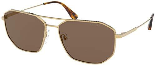 occhiali da sole oro Occhiali da sole Prada PR 64 XS 5AK05D Oro