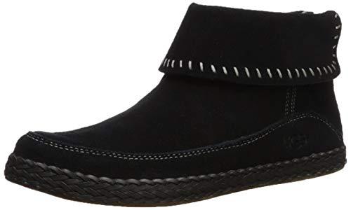 UGG Women's Varney Ankle Boot, Black, 7.5 M US