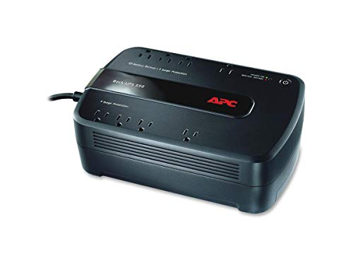 APC UPS Battery Backup & Surge Protector, 550VA, APC Back-UPS (BE550G)