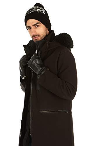 Messerio Sheepskin Leather Winter Gloves for Men 4