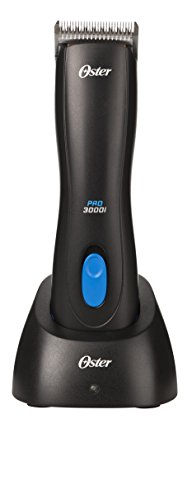Oster Pro 3000i Cordless Pet Clippers with Size 10 CryogenX Blade...