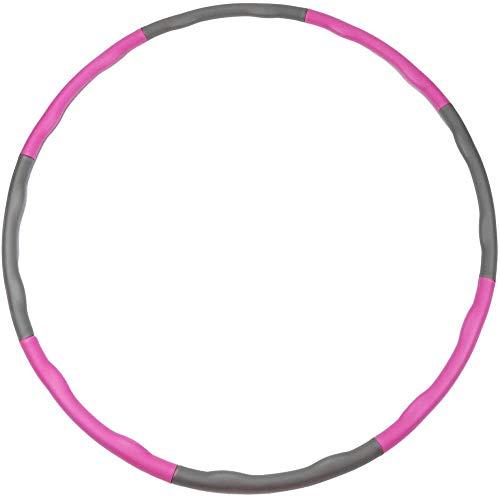 Ainstsk Hula Hoop Fitness para niños Adultos, Hula Hoops es Adecuado para Hacer Ejercicio en Adultos y pérdida de Peso, con Mini Cinta métrica