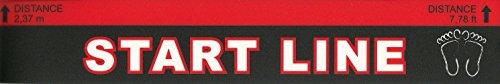 Dart Abwurf- Abstandslinie Dartline Dartlinie Kurz